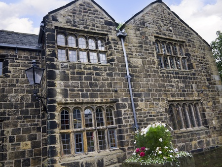 wharfedale: Manor House in Ilkley which is a spa town in West Yorkshire, in the north of England.