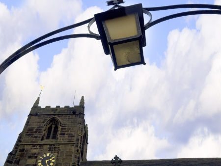 wharfedale: All Saints Church in Ilkley North Yorkshire Editorial