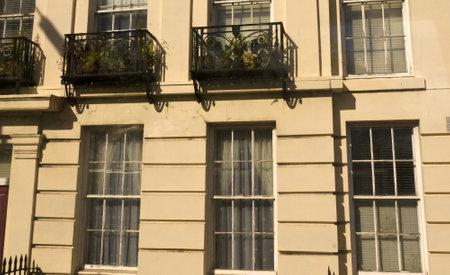 merseyside: Edifici georgiani a Liverpool Merseyside Editoriali