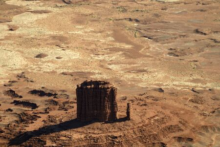 mesas: Monument Valley from the Air Utah USA
