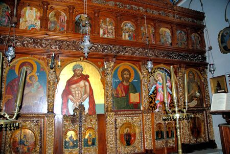 St Gerasimus Church on the Island of Kephalonia on the West Coast of Greece