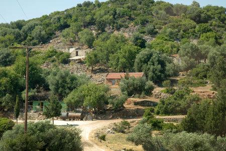 Farm where Captian Corellis Mandolin was filmed on Kephalonia Greece