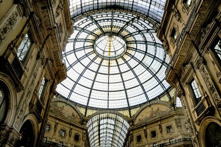 reputed: Galleria Vittorio Emanuele (reputed to be the world Editorial