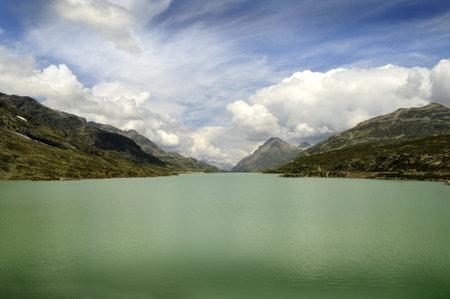 Swiss Alps near St Moritz Switzerland Europe Editorial