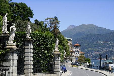 The beautiful Villa Carlotta on Lake Como in Northern Italy