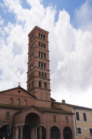 12th Century Church of Santa Maria in Cosmedin Rome Italy