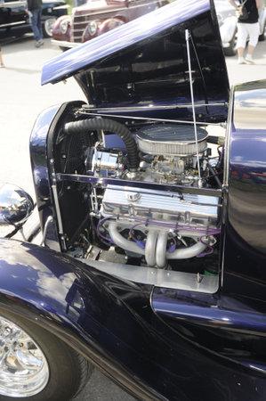 Hot Rod Engine in Banff Alberta Canada