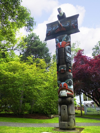 port stanley: Thunder Park in Victoria on Vancouver Island Editorial