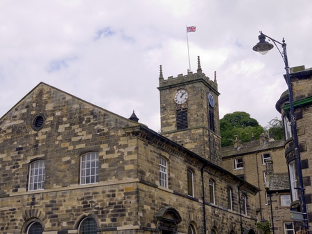 civic: Holmfirth, the Last of the Summer Wine Country in West Yorkshire England