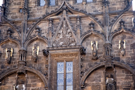 The Powder Tower in Prague, capital of the Czech Republic
