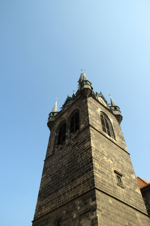 St Henrys Tower in Prague in the Czech Republic