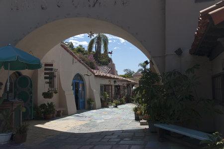 balboa: Spanish Village in Balboa Park San Diego California USA Editorial