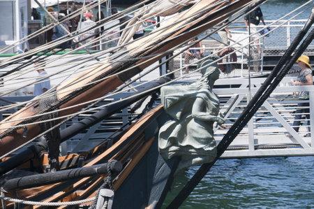Festival of Sail, the tall ships in San Diego California USA