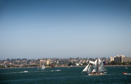 Festival of Sail, the tall ships in San Diego California USA