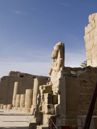 The Karnak complex is a vast open-air museum and the largest ancient religious site in the world. It is probably the second most visited historical site in Egypt Editorial