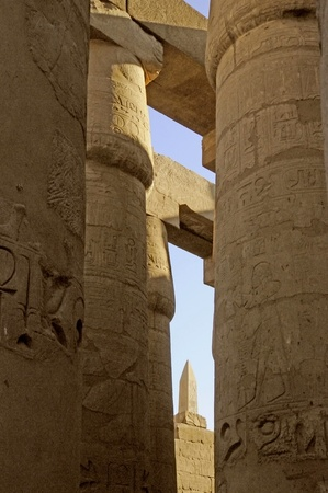 holies: The Karnak complex is a vast open-air museum and the largest ancient religious site in the world. It is probably the second most visited historical site in Egypt Editorial