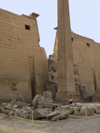 thebes: Luxor Temple is an Egyptian  temple complex located in the city of Luxor (ancient Thebes) and was founded in 1400 BC.