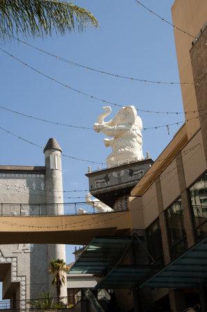 Shopping Mall in Hollywood California USA