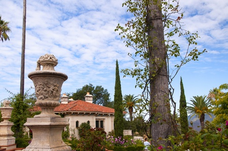 Huge Villa on the Big Sur at San Simeon California USA
