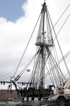 plimoth: The War Ship Constitution in Boston which is the capital and largest city in Massachusetts, and is one of the oldest cities in the United States