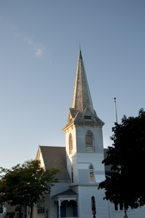 Church in Plymouth Massachusetts USA Editorial
