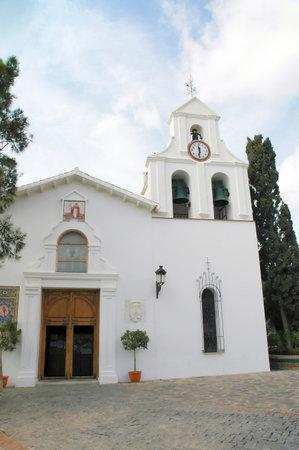 pueblo: Church at Benalmadena Pueblo Andalucia Spain
