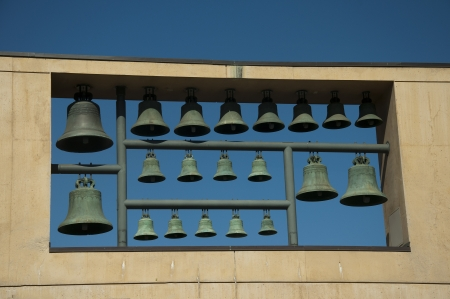 Campanile of Bells in Los Angeles California USA
