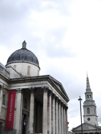 father in law: The National Gallery in London England