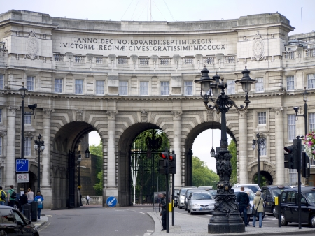 father in law: Admiralty Arch in London England Editorial