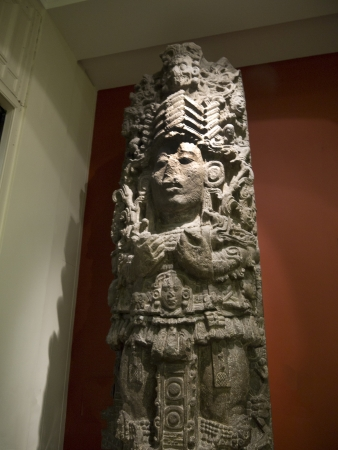 Pre-Columbian Art on Exhibition in Museum in London England
