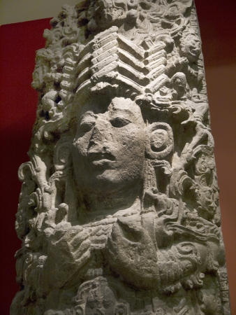 Pre-Columbian Art on Exhibition in Museum in London England Stock Photo - 20120552