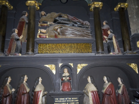 Tomb in St Patricks Cathedral in Dublin Ireland