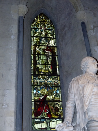 kilmainham: Memorial in St Patricks Cathedral in Dublin Ireland