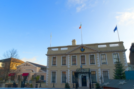 kilmainham: The Mansion House in Dublin City Ireland