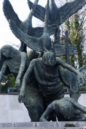 kilmainham: The Garden of Remembrance in Dublin City Ireland