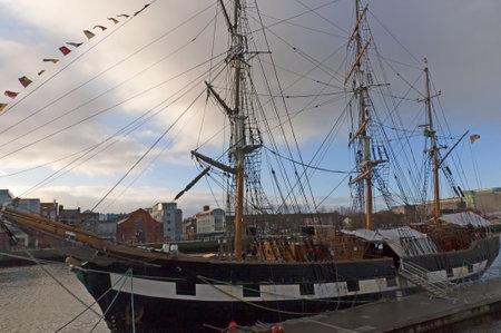 kilmainham: One of the Coffin Ships that took Emigrants across the World from Dublin City Ireland