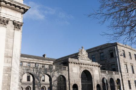 kilmainham: The Four Courts in Dublin Ireland