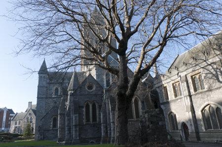 kilmainham: Christ Church Cathedral in Dublin City Ireland