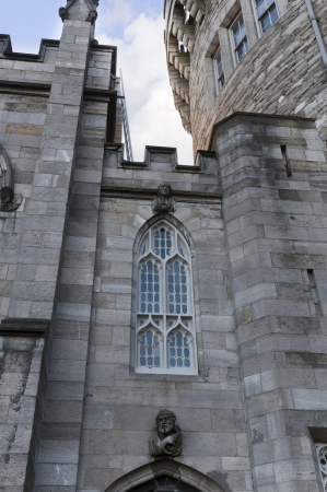 stateroom: Church in Dublin Castle Ireland Editorial