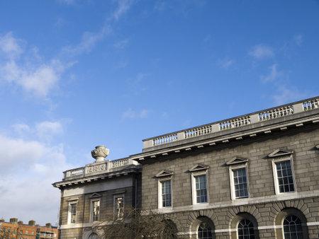 kilmainham: Customs House on the Quayside in Dublin City Ireland Editorial