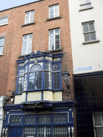 kilmainham: Temple Bar Shopping area in Dublin City ireland