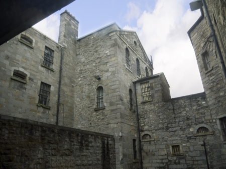 stateroom: Kilmainham Jail in Dublin City Ireland