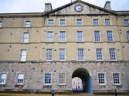 kilmainham: Collins Barracks now an Art Gallery and Museum in the city of Dublin Ireland