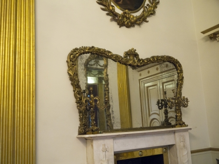 Inside the Staterooms of the Dublin Castle in Ireland
