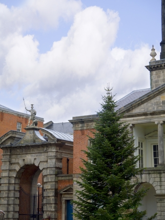 sala recepcyjna: Dziedziniec zamku w Dublinie w Dublin City Irlandii