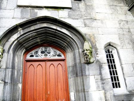 Barracks Church inside Dublin Castle in the City of Dublin Ireland Editorial