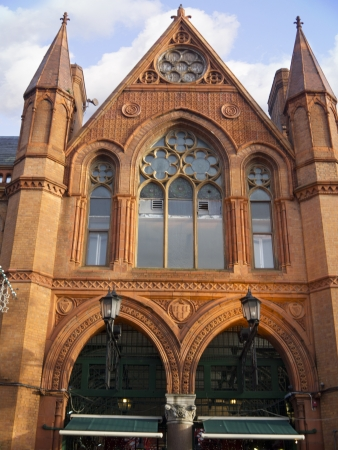 Market Hall in Dublin City Ireland