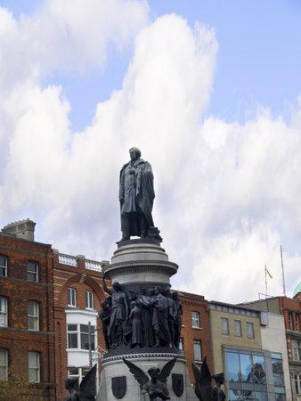 sala recepcyjna: Daniel O Connells Statua na ulicy Dublin O Connell Irlandii