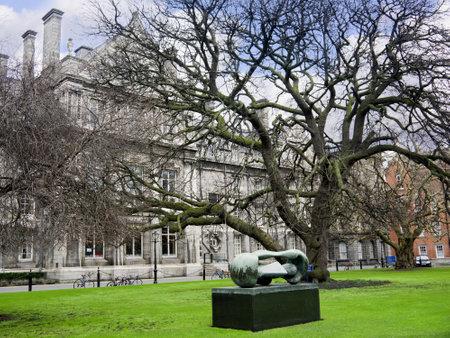 kilmainham: Trinity College the University in Dublin City Ireland