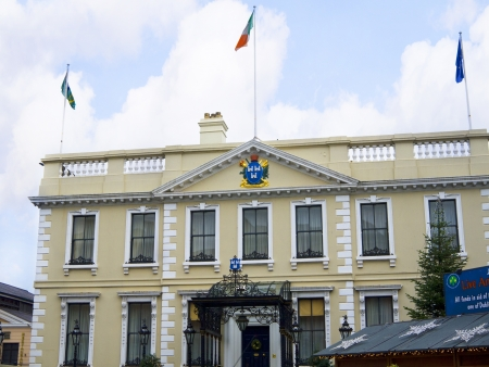 The Mansion House in Dublin City Ireland